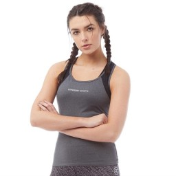 Superdry Sport Sprinter Mesh Panel Gritty Anthracite