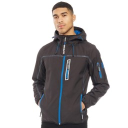 Superdry Sport Tracker Deep Charcoal/Bright Blue